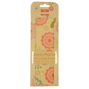 Spring Bloom Easter Deco Mache x 3 Paper Sheets Tissue Patch Craft