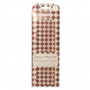 Tis the Season - Pringle Deco Mache x 3 Paper Sheets Tissue Patch Craft