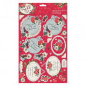 Pocket Full of Posies (Docrafts) - A4 Decoupage Paper Craft Pack - Mum