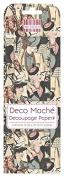 FEDEC187 DECO MACHE PAPER-FEMALE ICN