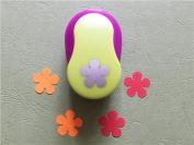 Since 2.0-2.5CM Bloom Shape EVA foam craft punch paper cutter for greeting card Scrapbooking Handmade hole puncher Furador Scrapbook,Random Colour and Design