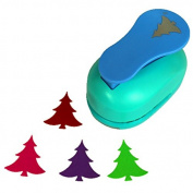 CADY 5.1cm Design Christmas tree paper punch for scrapbooking craft diy puncher