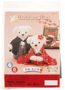 Clover wedding kit Wedding Bear kimono Iro-daKake 69-140