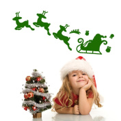 OVERMAL Christmas Decoration Decal Window Stickers Home Decor
