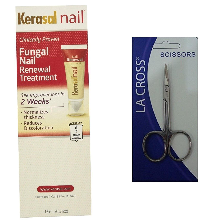 Kerasal Nail Fungal Nail Renewal Treatment 15 ml + Free Nail Scissor ...