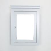 Eviva New York 60cm Grey Wall Mount Medicine Cabinet