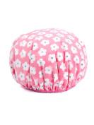 WJL Top grade Korean version Double fabric Increase WOMEN Adult Waterproof Shower cap Shampoo caps Cook cap