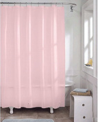 Amgaical Mildew-Free Water-Repellent Fabric Shower Curtain 72-Inch by 72-Inch (180 x 180cm)