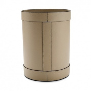 Waterworks Equus Round Waste Can in Ivory