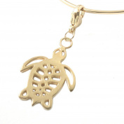MB Michele Benjamin LLC Jewellery Design Women's 18K Gold Plated Sterling Silver Sea Turtle Collectable Charm