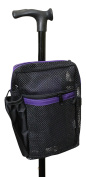 Cane Buddy - Secure Pouch for Cane, Walker, Crutches and Wheel Chairs