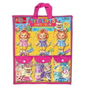 T.S. Shure Teeny Tiny Triplets Birthday Wooden Magnetic Dress-Up Dolls by T.S. Shure