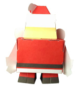 YT Kid papercraft - Santa Claus, toy for 3 to 6 years old