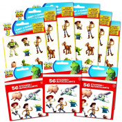 Toy Story Stickers and Tattoos Party Favours Pack -- 174 Stickers and 84 Temporary Tattoos