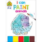 I Can Paint Activity Book-Animals