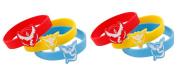Pokemon GO Team Valour Team Mystic Team Instinct Rubber Wristband x 6