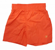 Ocean Pacific Boys Solid Orange Swim Trunk