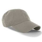 Gray_(US Seller)Curved Bill Plain Baseball Cap Visor Hat Adjustable