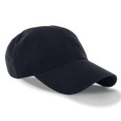 Navy_(US Seller)Curved Bill Plain Baseball Cap Visor Hat Adjustable