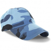 Blue Camo_(US Seller)Curved Bill Plain Baseball Cap Visor Hat Adjustable