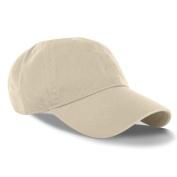 Beige_(US Seller)Curved Bill Plain Baseball Cap Visor Hat Adjustable