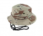 D.Camo_(US Seller)Unisex Hat Wide Brim Hiking Bucket Safari Cap Outback