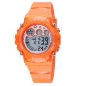 OHSEN Kids Multifunction Sport Watch Digital Backlight Wristwatch Waterproof 1508 - Orange