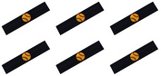 SOFTBALL Team Headbands with Softball Patch (Set of 6) By Funny Girl Designs - Many Colours Available!