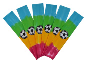 Soccer Team Headbands with Soccer Ball Patch (Set of 6) By Funny Girl Designs - Many Colours Available!