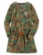 Ralph Lauren Polo Girls Camo Dress S 7