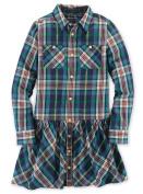 Ralph Lauren Polo Girls Plaid Shirtdress Shirt Dress 7