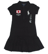 Ralph Lauren Girls Track and Field Country Japan Big Pony Polo Dress