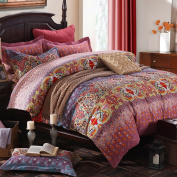 FADFAY Bohemian Duvet Covers Set 4-Piece Queen
