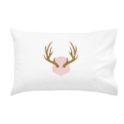 Oh, Susannah Antlers Pillowcase