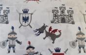 Max Studio Kids Mediaeval Knight Castle Sheet Set
