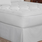 Keeco Therapedic High Performance 220GSM Microfiber Mattress Pad, Full