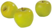 FloraCraft SimpleStyle Artificial Fruit, One Green Apple