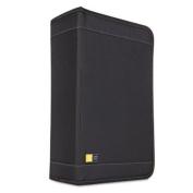 CASELOGIC CDW128T CD/DVD Wallet Holds 136 Discs, Nylon, Black