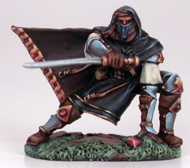 Crouching Male Assassin DSM-7208