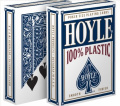 Hoyle 100% Plastic Playing Cards, Standard Index - 1 Blue Deck