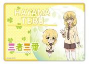 Tripartite trilobe Teru Hayama A3 desk mat
