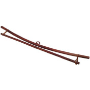 Smoked Bamboo Wall Hanger for 48cm Textile