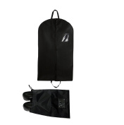 Bags for Less Professional Garment Bags – 24 X 62 Travel Organisation and Protection for Clothes, Dresses, Jackets, Suits, Pants – Easy Carry Handle, Gusset & Clear ID Pocket – Includes Shoe Bag