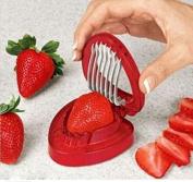 Drhob1Pcs Strawberry Berry Stem Gem Leaves Remover Fruit Corer Slicer Cutter Split Set by Drhob