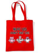 Hug Us Don't Eat Us Shopping / Shoulder Bag