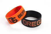 NCAA Silicone Rubber Bracelet Set, 2-Pack