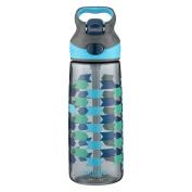 Contigo AUTOSPOUT Straw Striker Kids Water Bottle, 590ml, Charcoal