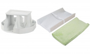 Dexbaby The Spin Changing Station with Contoured Changing Pad and Cover