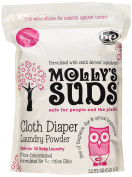 Molly's Suds Cloth Nappy Natural Laundry Powder Of Parabens & Harsh Chemicals 32 Nappy Loads 0.9kg. 440mls.