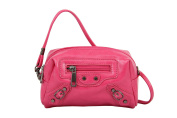 Mellow World Fashion Handbag Zarah, Fuchsia, One Size